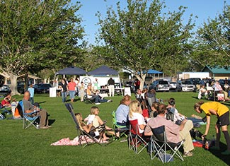Drive-In Movies at Luckie Park in Twentynine Palms