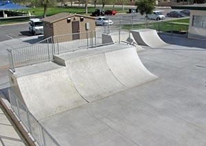 Luckie Skateboard Park