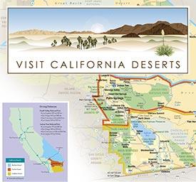 Map Visit CA Deserts