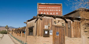 Pappy and Harriet's Pioneertown Palace near 29 Palms, California