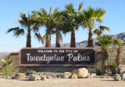 The City of Twentynine Palms