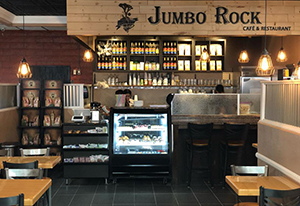 Jumbo Rock Cafe in 29 Palms, CA, near Joshua Tree National Park