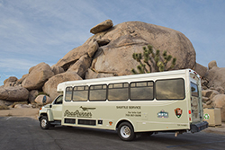 RoadRunner Shuttle in Joshua Tree National Park, 29 Palms, CA