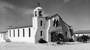 Blessed Sacrament Catholic Church, 29 Palms, California