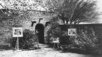 Charlton Adobe circa 1960, 29 Palms Inn, 29 Palms, California