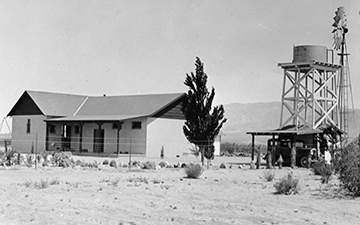 Old Schoolhouse 1931, 29 Palms, California
