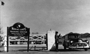Marine Corps Training Center, 29 Palms, California, 1952