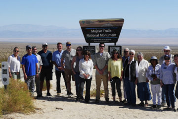 Field Trip to Mojave Trails National Monument, Mojave Desert, California