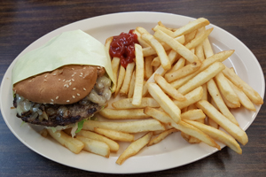 Andreas\'s Charbroiled Burgers, 29 Palms, Ca