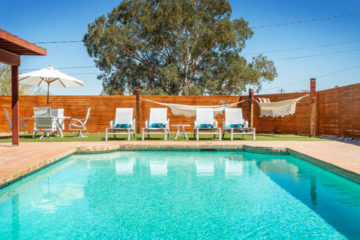 Pavo Real Retreat vacation rental in 29 Palms, California, next to Joshua Tree National Park