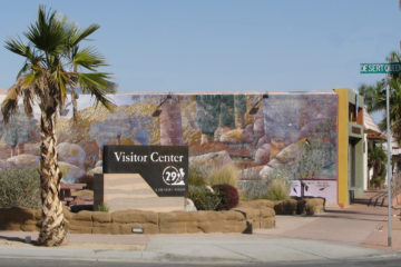 Visitor Center & Gallery, 29 Palms, CA