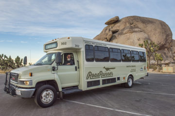 Visit 29 Palms and hop on the Joshua Tree National Park RoadRunner Shuttle