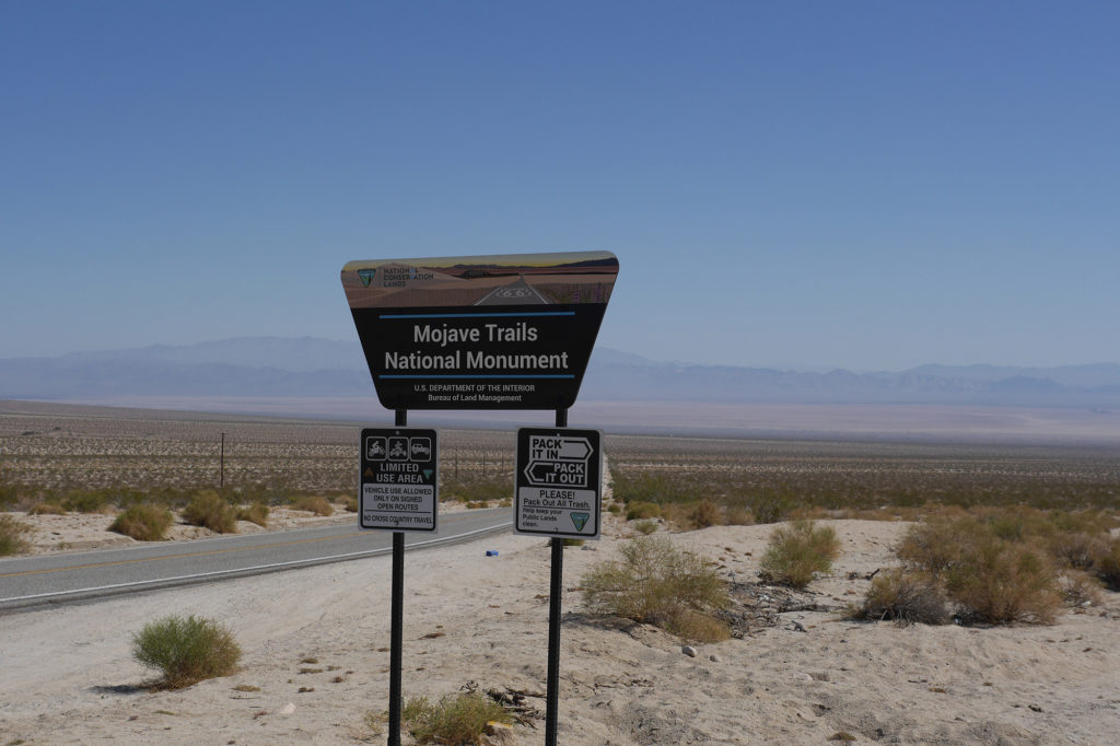 Welcome to Mojave Trails National Monument