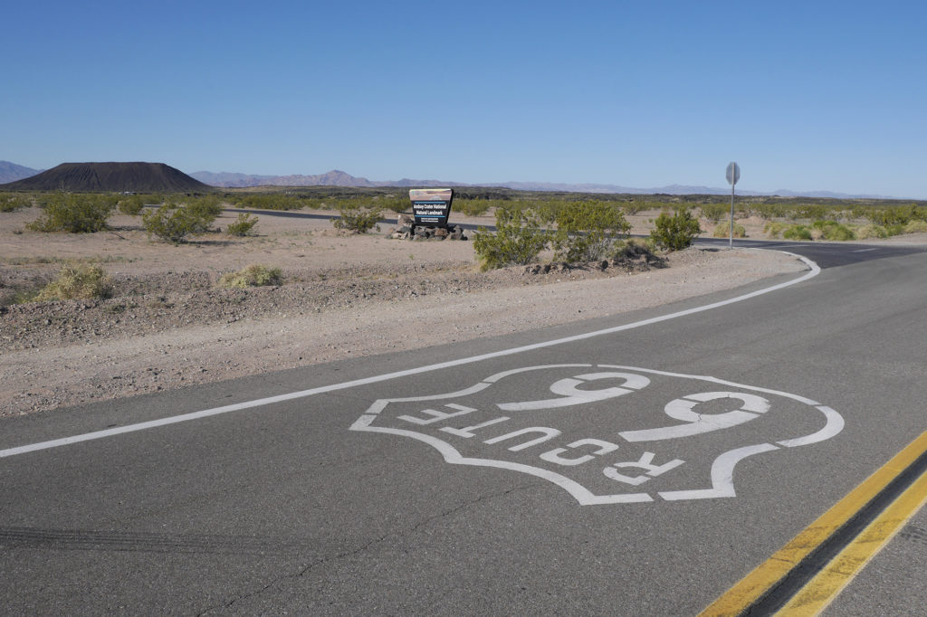 Visit 29 Palms and discover the iconic Route 66 to Amboy Crater Natural National Landmark in the Mojave Trails National Monument