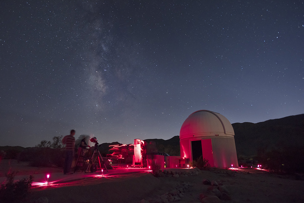 Star Party at Sky's The Limit Observatory and Nature Center in 29 Palms, CA.