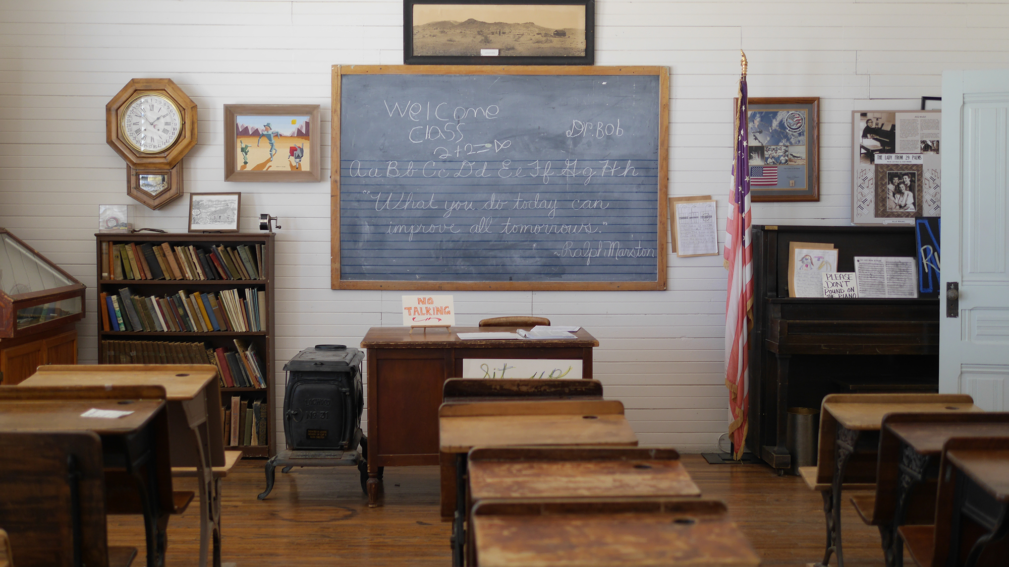 Old Schoolhouse Lecture Series 29 Palms California