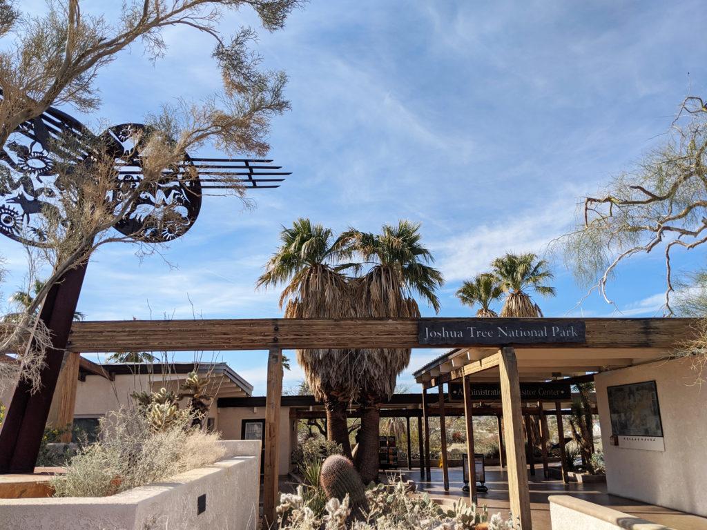 Oasis Visitor Center, Joshua Tree National Park, 29 Palms, California