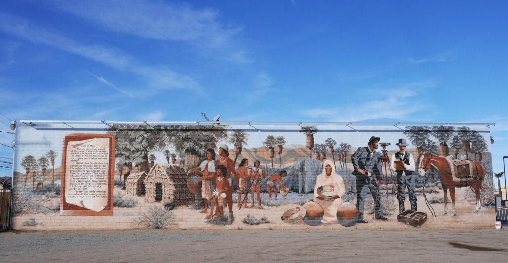 Oasis of Mara Mural, 29 Palms, California
