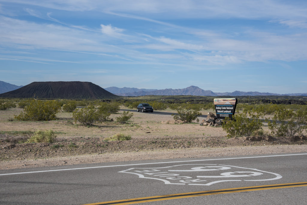 Amboy Crater and Route 66, Mojave Trails National Monument
