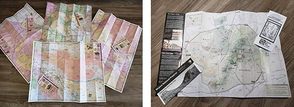 29 Palms Visitor Center maps