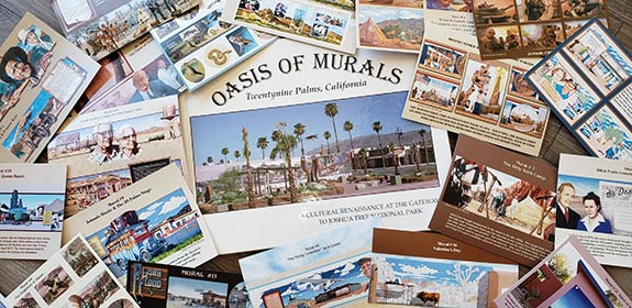 29 Palms Visitor Center brochures