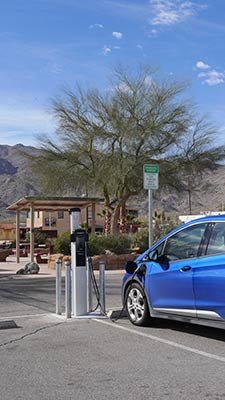 29 Palms Visitor Center car charging