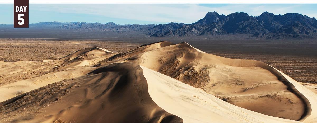 Kelso Sand Dunes California