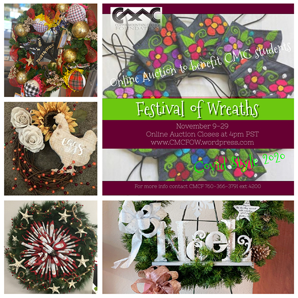 Copper Mountain College Foundation Festival of Wreaths