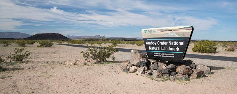 New Designation for Amboy Crater