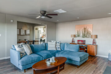 Casa Delfin Living Room Vacation Rental 29 Palms California