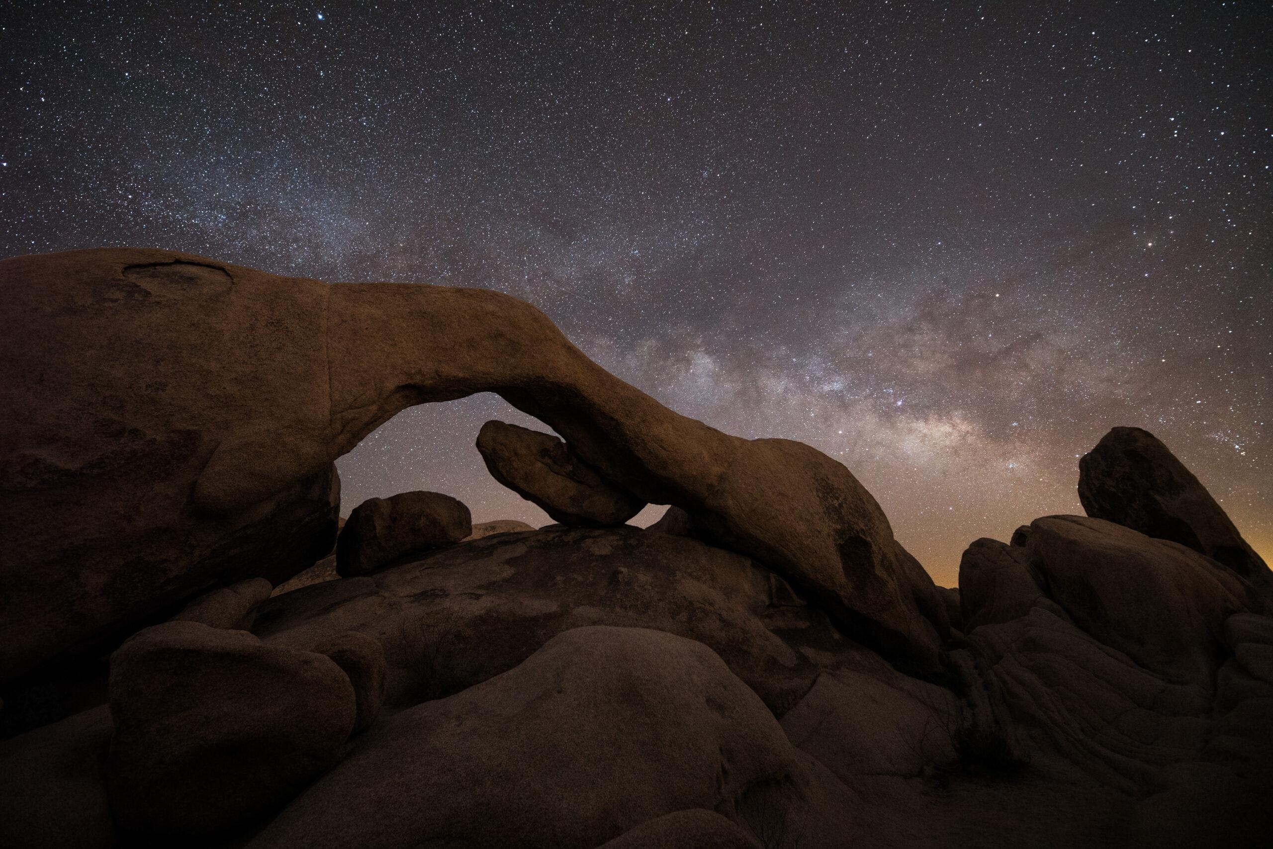 Jack Fusco - Joshua Tree Arch Rock Milky Way