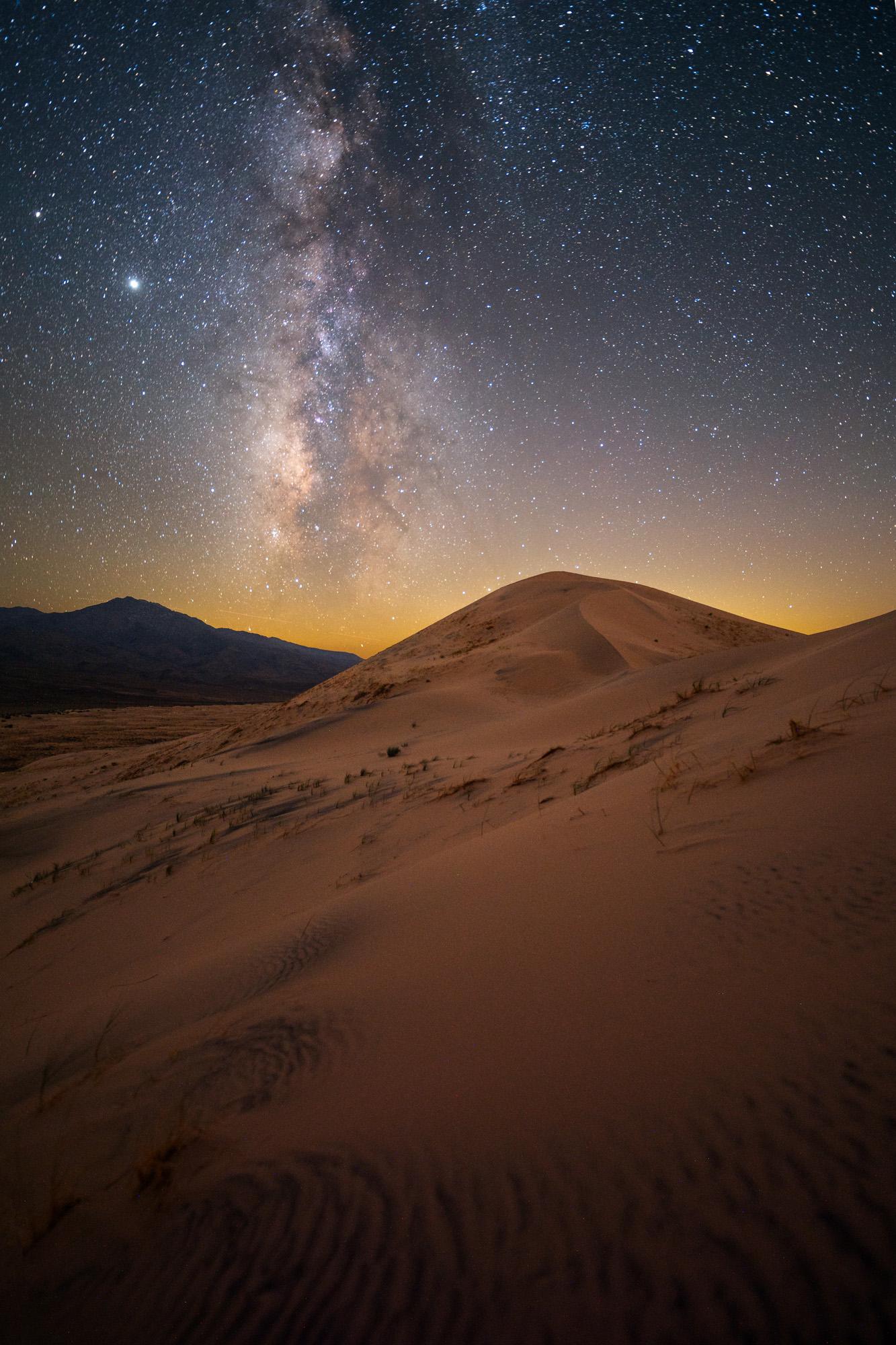 Jack Fusco - Kelso Dunes Milky Way